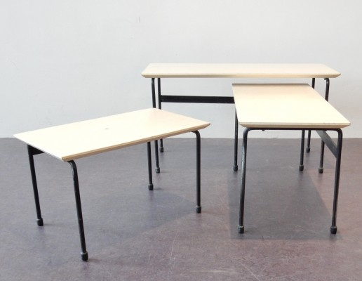 Twello nesting table from the fifties by Martin Visser for Spectrum