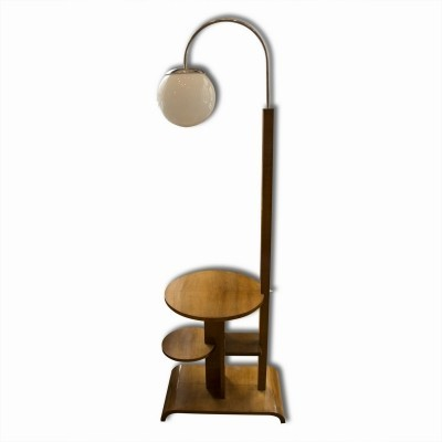 Floor lamp from the thirties by unknown designer for unknown producer