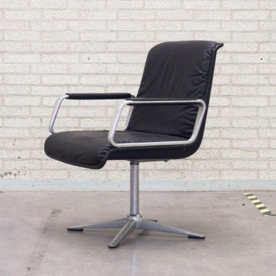 Delta Series office chair from the sixties by unknown designer for Wilkhahn