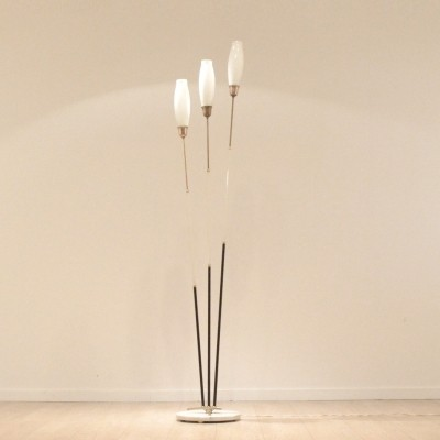 Floor lamp from the fifties by unknown designer for Stilnovo