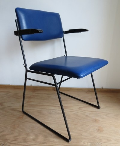 Auditorium arm chair from the sixties by Ernest Race for Race Furniture