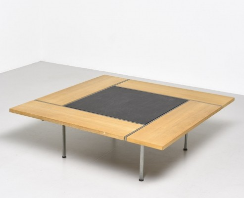 Coffee table by Preben Fabricius & Jørgen Kastholm for Bo Ex, 1950s