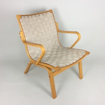 Albert low back arm chair from the seventies by Finn Østergaard for unknown producer