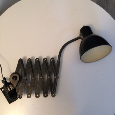 Wall lamp from the forties by unknown designer for Erpe