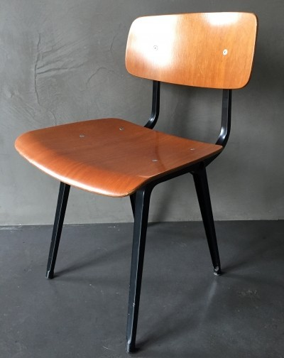 2 x Revolt dinner chair by Friso Kramer for Ahrend de Cirkel, 1950s
