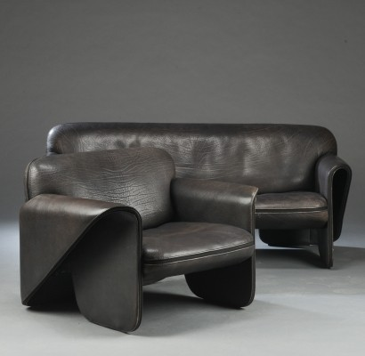 Ds 125 seating group from the seventies by Gerd Lange for De Sede