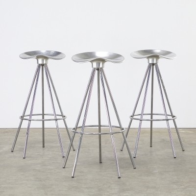 Set of 3 Jamaica stools by Pepe Cortès for AMAT 3, 1990s