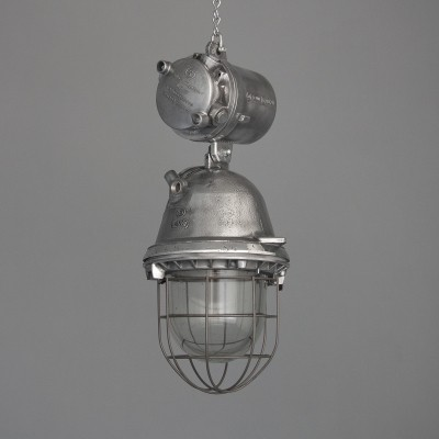 4 hanging lamps from the fifties by unknown designer for unknown producer