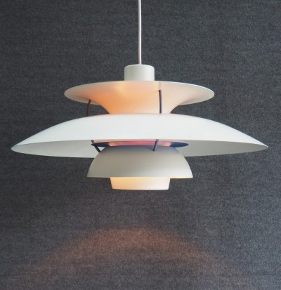 3 x PH5 hanging lamp by Poul Henningsen for Louis Poulsen, 1950s