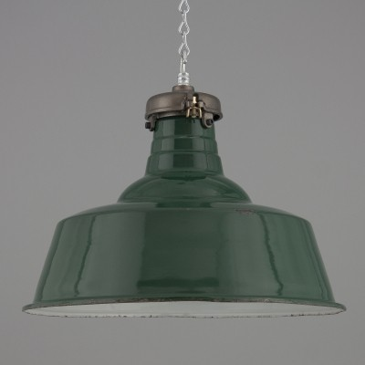 3 hanging lamps from the thirties by unknown designer for Simplex