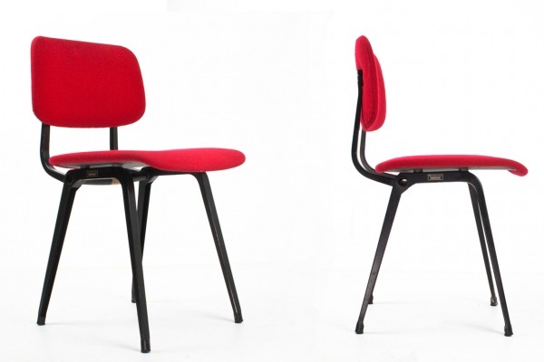 12 Revolt dinner chairs from the fifties by Friso Kramer for Ahrend de Cirkel