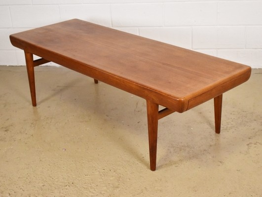 Large coffee table from the sixties by Johannes Andersen for CFC Silkeborg