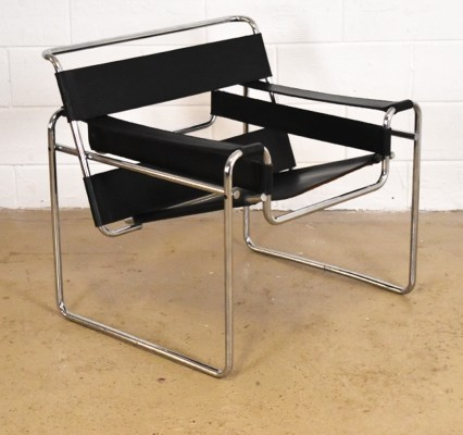 Wassily lounge chair from the fifties by Marcel Breuer for Gavina