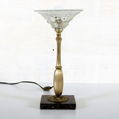 Desk lamp from the thirties by unknown designer for unknown producer