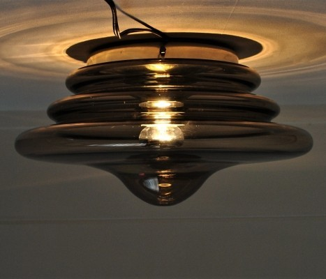 2 ceiling lamps from the sixties by unknown designer for unknown producer