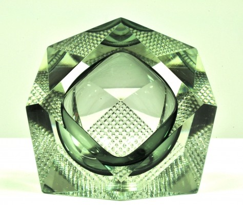 Glass objekt by Gianfranco Mandruzzato for Mandruzzato, 1970s