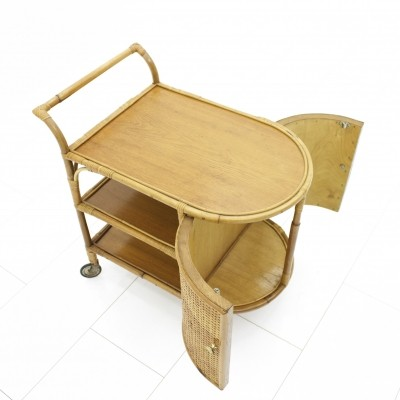 Bar serving trolley from the fifties by unknown designer for unknown producer