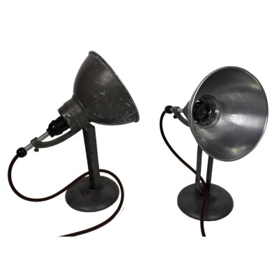 2 x BAG Bronzewarenfabrik desk lamp, 1930s