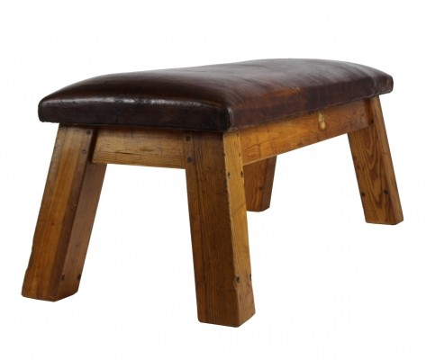 Bench from the forties by unknown designer for unknown producer
