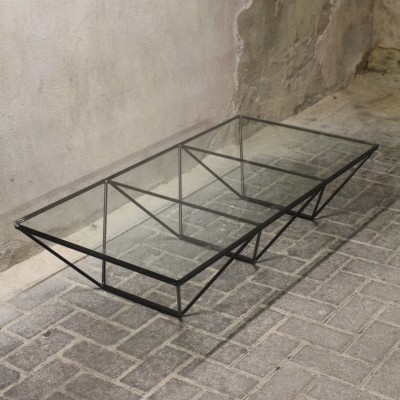Alanda coffee table from the eighties by Paolo Piva for BB Italia