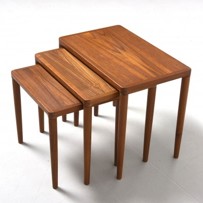 Nesting table from the fifties by unknown designer for Bramin