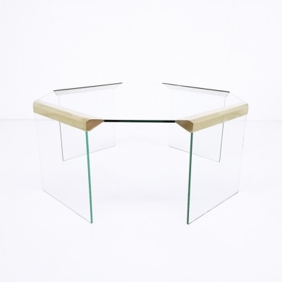 Coffee table from the seventies by Pierangelo Gallotti for Gallotti & Radice
