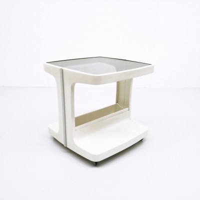 Serving trolley from the seventies by Marc Held for Prisunic