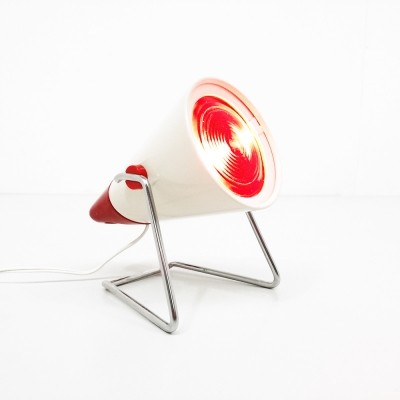 3 Infraphil desk lamps from the sixties by Charlotte Perriand for Philips