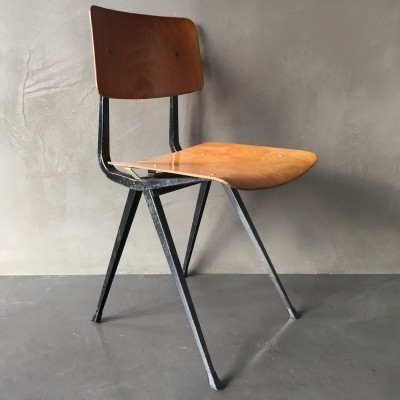 3 Result dinner chairs from the sixties by Friso Kramer for Ahrend de Cirkel