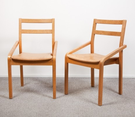 2 x vintage dining chair, 1960s