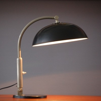 Model 144 desk lamp from the sixties by H. Busquet for Hala Zeist