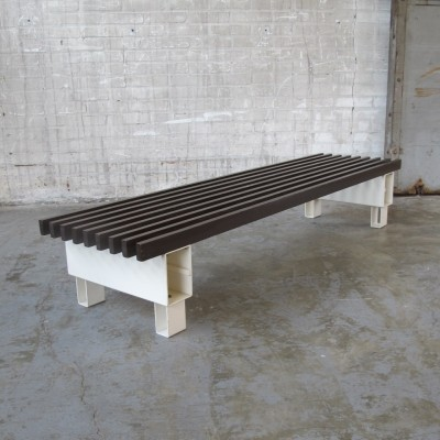 Bench from the sixties by unknown designer for unknown producer