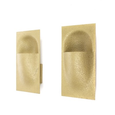 Set of 2 Balance wall lamps from the sixties by Bertrand Balas for Raak Amsterdam