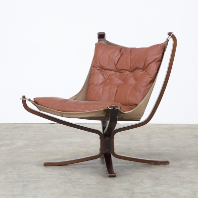 Falcon Sling lounge chair from the seventies by Sigurd Ressell for Vatne Møbler