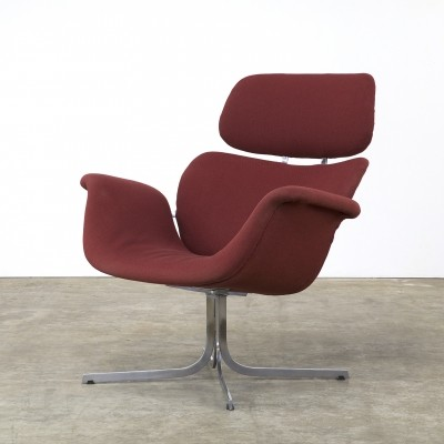 F 545 Big Tulip lounge chair by Pierre Paulin for Artifort, 1970s