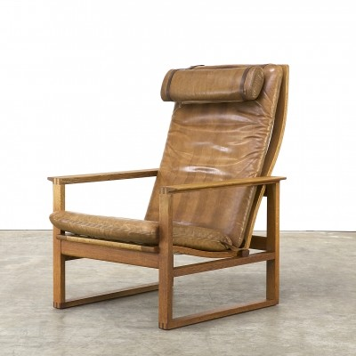 Lounge chair by Børge Mogensen for Fredericia, 1970s
