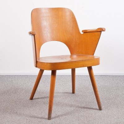 Model 1515 arm chair by Lubomír Hofmann for Ton, 1950s