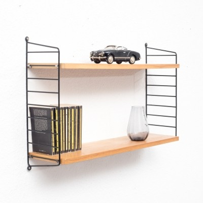 Nisse Strinning wall unit, 1960s