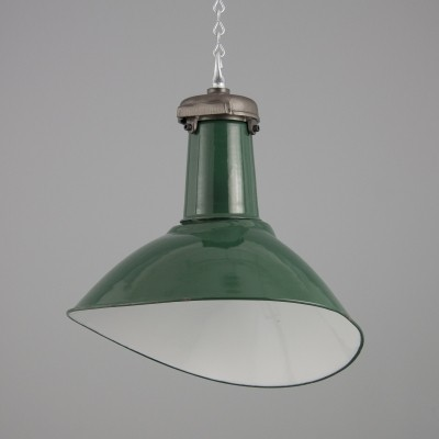 8 hanging lamps from the fifties by unknown designer for Simplex