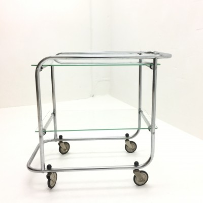 Serving trolley from the thirties by unknown designer for unknown producer
