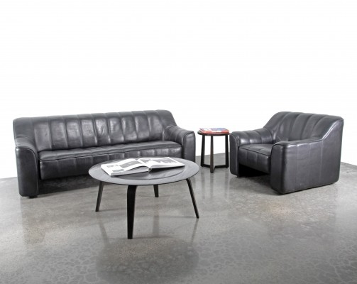 Pair of DS44 seating groups by De Sede, 1970s