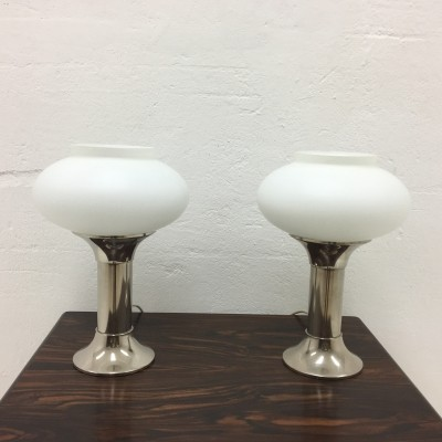 Set of 2 desk lamps from the sixties by unknown designer for VEB Leuchtenwerk