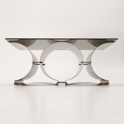 Coffee table from the seventies by Francois Monnet for Kappa