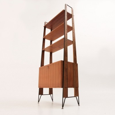 Wall unit from the fifties by unknown designer for Cicchetti