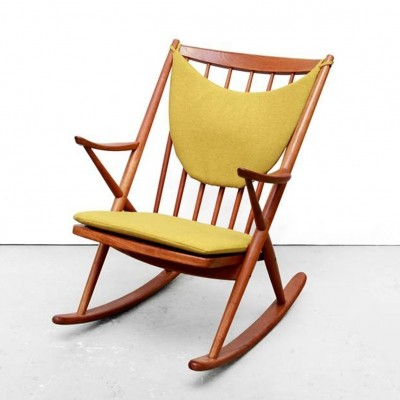 Model 182 rocking chair from the fifties by Frank Reenskaug for Bramin