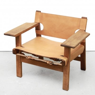 Spanish arm chair by Børge Mogensen for Fredericia, 1950s