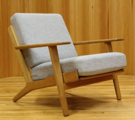 GE-290 lounge chair from the fifties by Hans Wegner for Getama