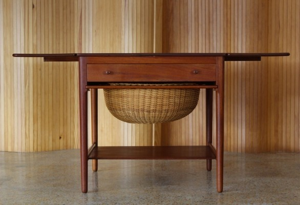 AT 33 side table by Hans Wegner for Andreas Tuck, 1950s