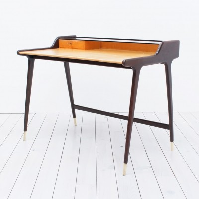 Writing desk from the fifties by Reinhold Stotz for unknown producer
