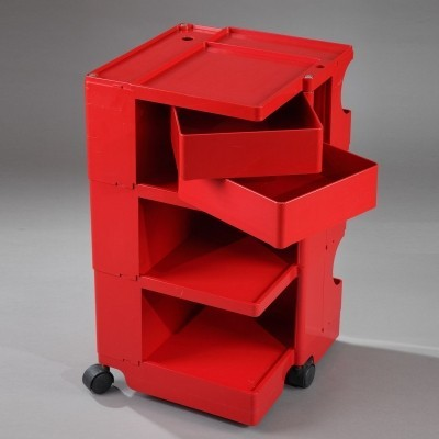 2 Boby side tables from the eighties by Joe Colombo for unknown producer